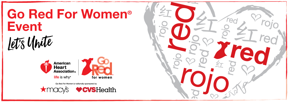Go Red NonLuncheon Banner Image